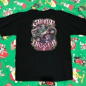 2005 Grave Digger T-shirt